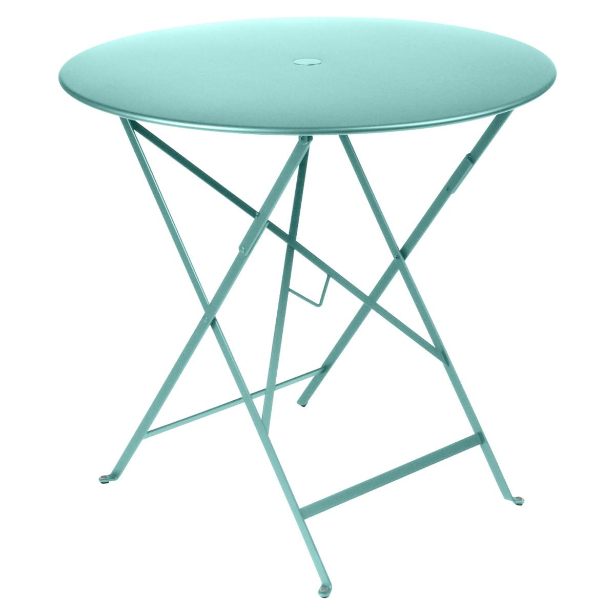 Fermob metal bistro table 30 inch round