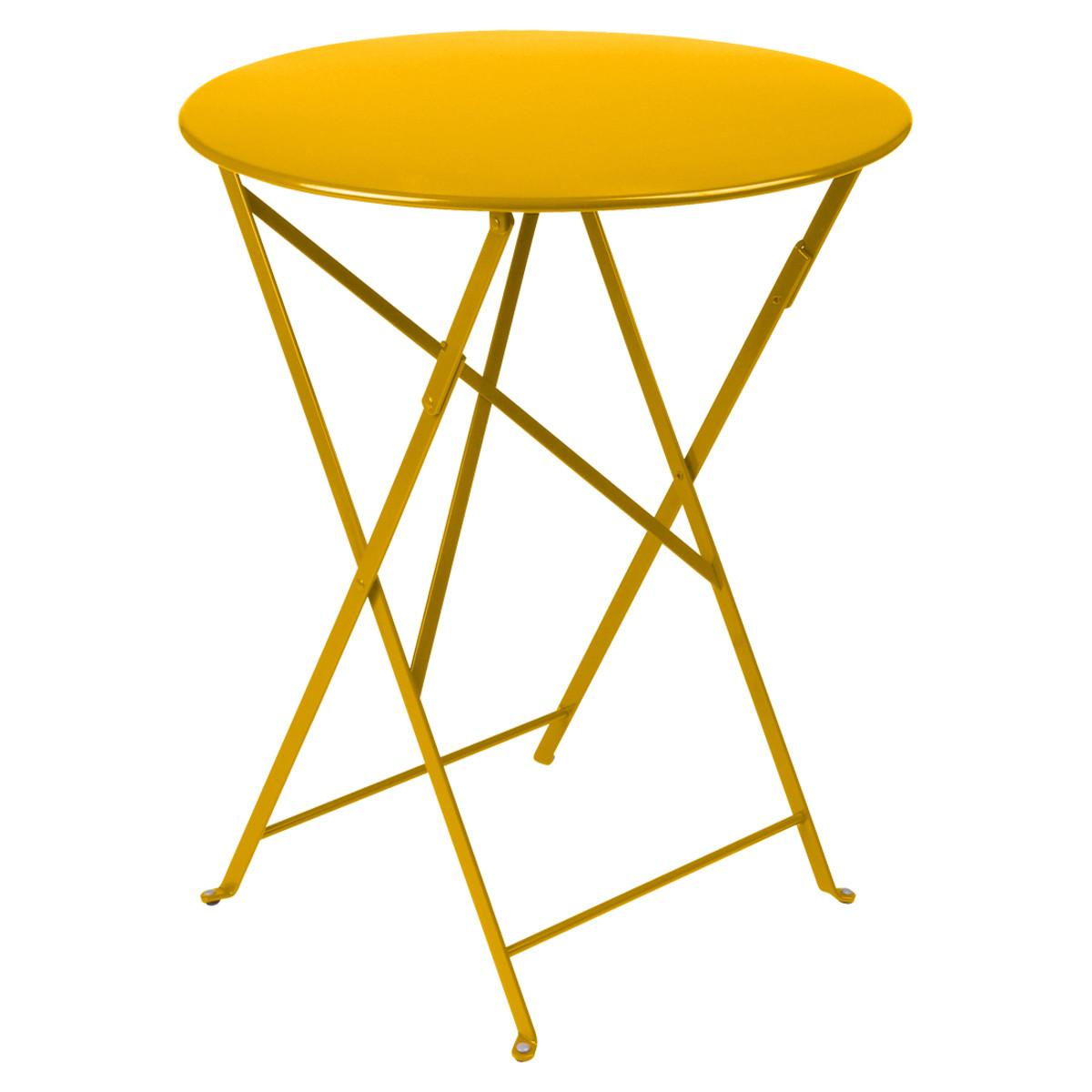 Fermob Metal Bistro Table 24 Inch Round ...