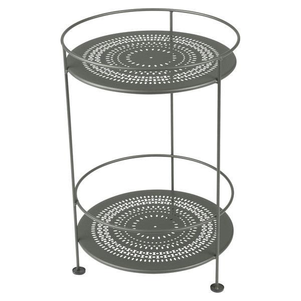 Fermob Gueridon side table with double table top