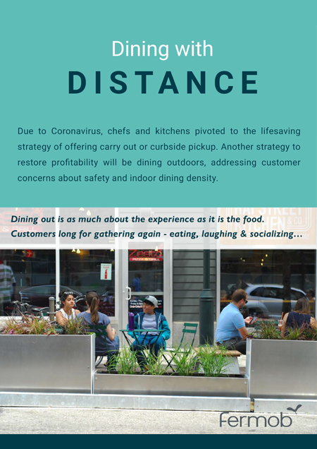Restaurant Dining with Distance Brochure