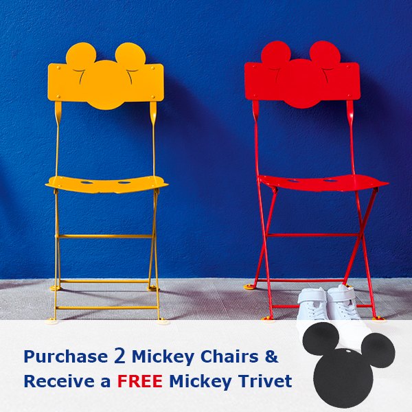 Purchase 6 Mickey Chairs & Receive Free Mickey Trivet